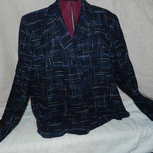NWT Jones New York Blue Blazer